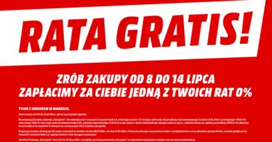rata gratis w sklepach media markt