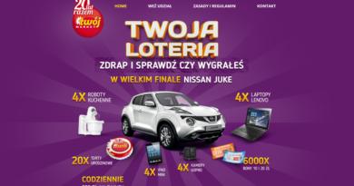 loteria Twój Market 2016 - 20 lat razem