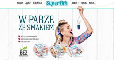konkurs superfish w parze ze smakiem