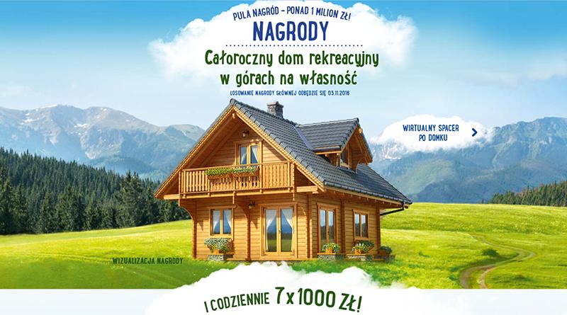 loteria almette do wygrania dom w górach