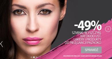 promocja rossmann 2016 szminki błyszczyki lakiery
