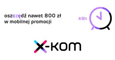 promocja x-kom na urządzenia mobilne 2016