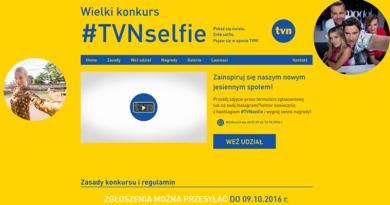 konkurs tvn selfie 2016