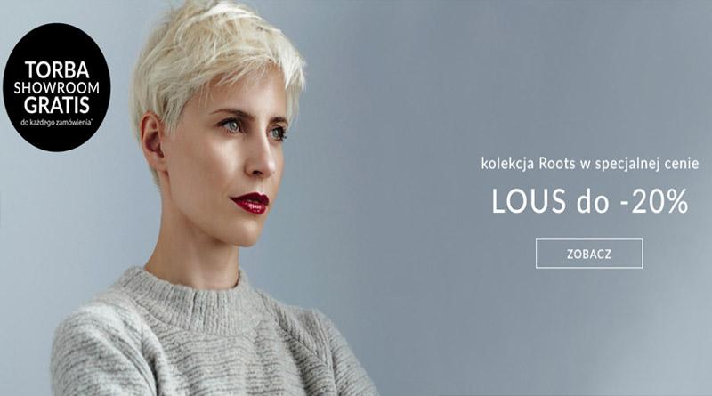 promocja showroom kolekcja lous 2016 torba gratis