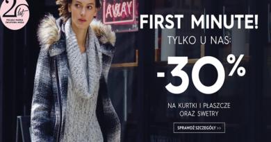 promocja top secret first minute kurtki 2016