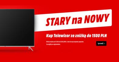 wymień stary telewizor na nowy w media markt 2016