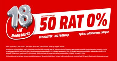 50 rat media markt 18 urodziny