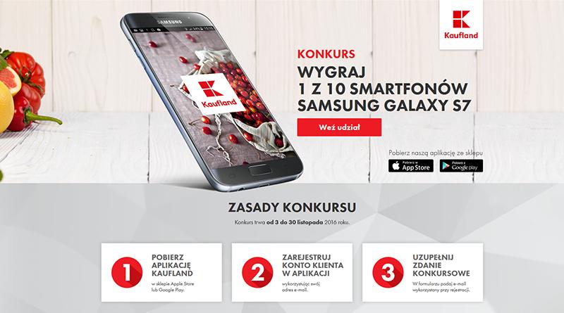 Konkurs Kaufland: Aplikacja mobilna Kaufland