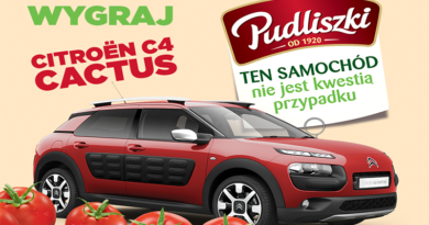 Konkurs Pudliszki - Wygraj Citroen C4 Cactus