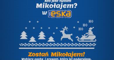 konkurs radio eska kto jest Twoim Mikołajem