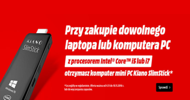 mini PC kiano slimstick gratis w media markt