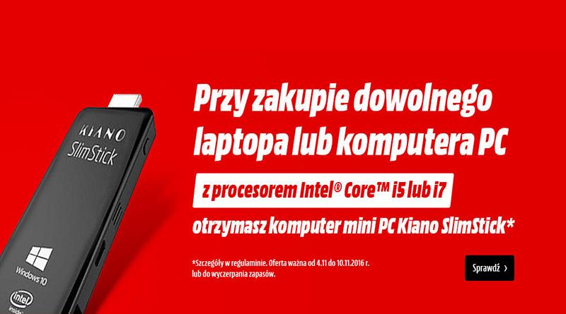 mini PC kiano slimstick gratis w media markt
