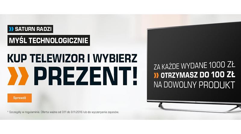 promocja saturn kup telewizor i wybierz prezent
