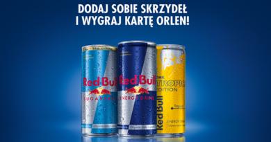 Loteria Red Bull Wygraj kartę zakupową Orlen