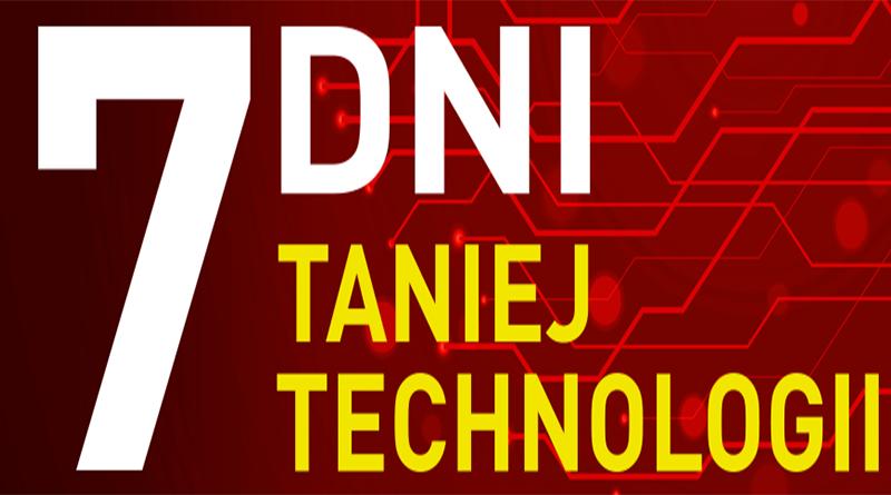 Promocja RTV euro AGD 7 dni taniej technologii
