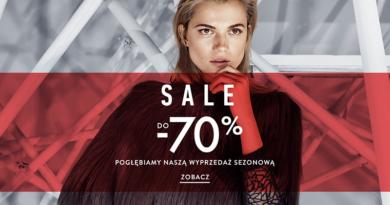 Promocja Simple Pogłębiamy wyprzedaż sezonową, SALE do -70%