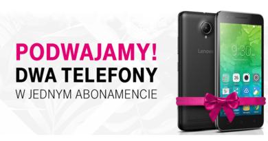 Promocja T-Mobile Podwajamy! Dwa telefony w jednym abonamencie
