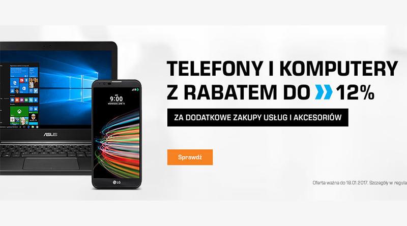 Telefony i komputery z rabatem do 12% w Saturn