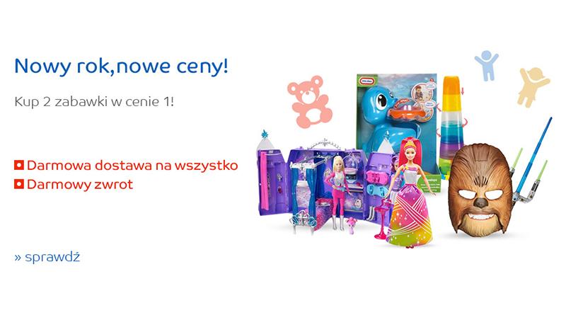 Dwie zabawki w cenie jednej eMAG.pl