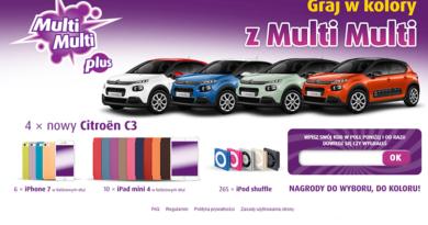 Konkurs Lotto Graj w kolory z Multi Multi