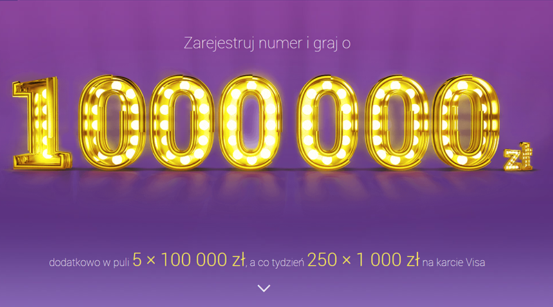 Loteria Play Karta milion warta