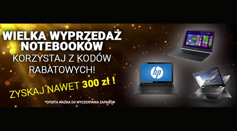 Wielka wyprzedaż notebooków Vobis Zyskaj nawet 300 złotych