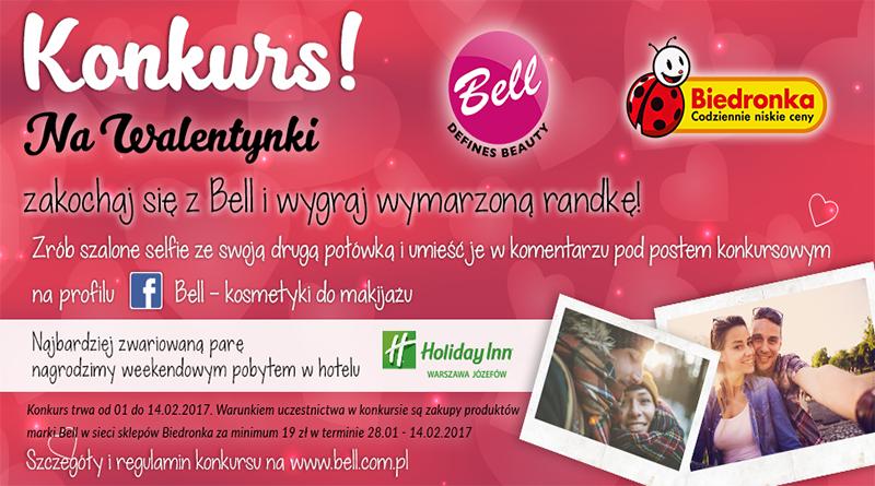Konkurs Biedronka Zakochaj się w Bell
