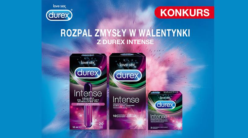 Konkurs Carrefour Rozpal zmysły w Walentynki z Durex Intense