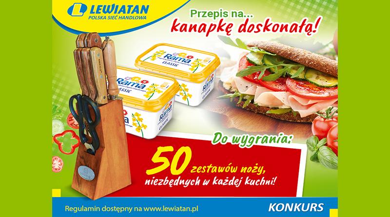 Konkurs Lewiatan Pomysł na kanapkę doskonałą