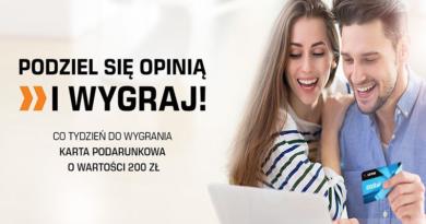 Konkurs Saturn Podziel się opinią i wygraj 200 zł