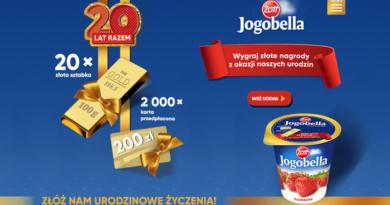 Konkurs Jogobella Życzenia na wagę złota