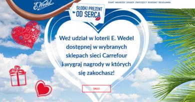 Loteria Carrefour Słodki prezent od serca
