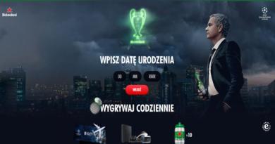 Loteria Heineken Wejdź do gry