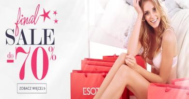 Promocja Esotiq Wyprzedaż do -70%