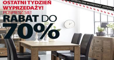 Promocja Jysk Rabaty do -70%
