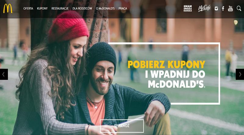 Promocja McDonald's Pobierz nowe kupony