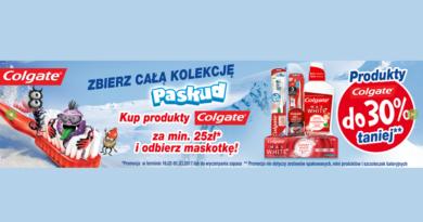 Produkty Colgate w drogerii Natura do -30% taniej