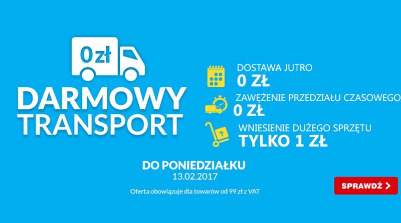 Promocja OleOle! Darmowy transport
