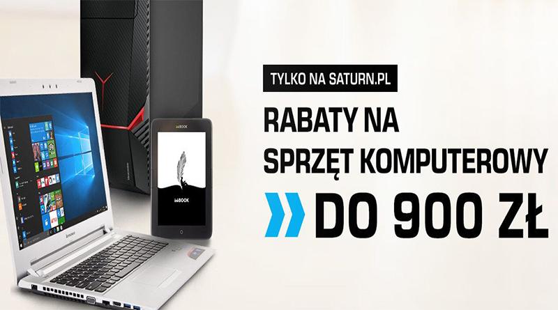 Sprzęt komputerowy do 900 zł taniej na Saturn.pl