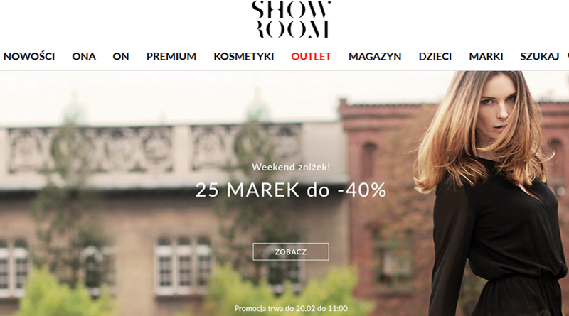 Weekend zniżek! 25 marek do -40% w Showroom