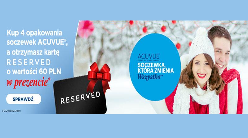 Promocja Vision Express Karta Reserved o wartości 60 zł