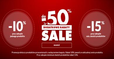 Promocja Wittchen Dodatkowe rabaty do -50%