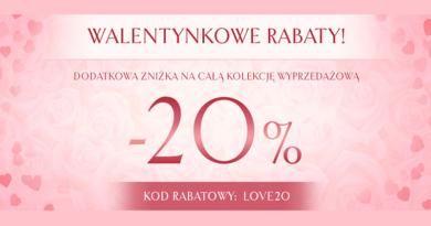 Promocja Wojas Walentynkowe rabaty