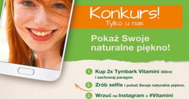 Konkurs Tymbark Zrób selfie i pokaż swoje naturalne piękno
