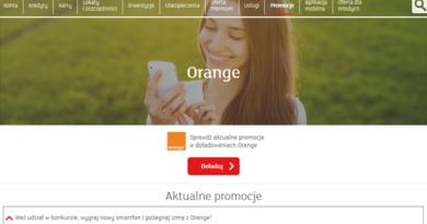 Doładuj telefon w Orange przez serwis mBanku i wygraj smartfon