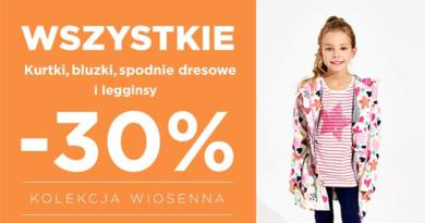 Kolekcja wiosenna taniej do -30% w 5.10.15