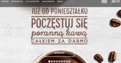 Promocja McDonald's Poranna kawa całkiem za darmo