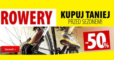 W Media Expert rowery przed sezonem kupisz do 50% taniej