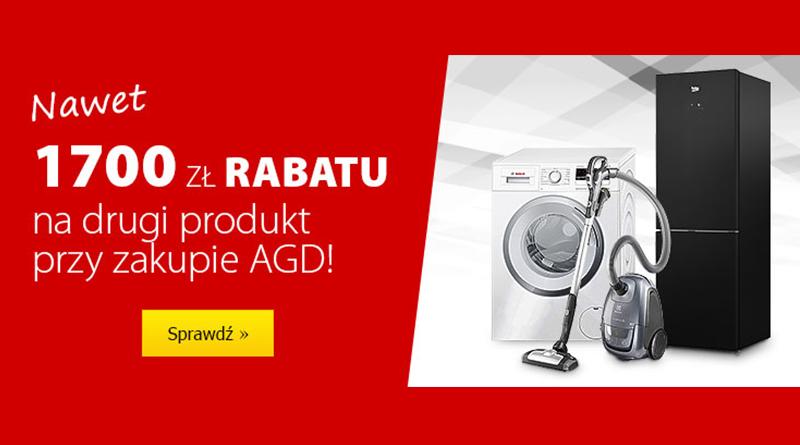 AGD z rabatem na drugi produkt nawet do 1700 zł w Media Expert