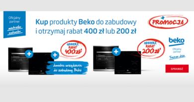 W Neonet z produktami Beko otrzymasz rabat 400 zł lub 200 zł